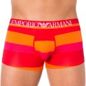 Boxer Trendy Multicolor Microfiber Rouge - Magenta -Orange