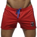 Short Badge Sport Rouge