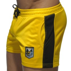 Short Badge Sport Jaune