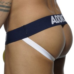 Jock Strap Basic Colors Jaune - Marine