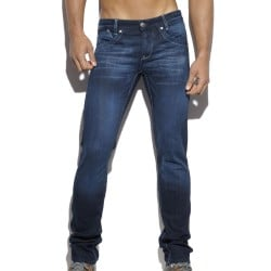 Pantalon Jeans Relief Pockets Indigo