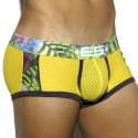 Boxer Tropical Mesh Jaune