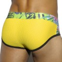 Slip Tropical Mesh Jaune