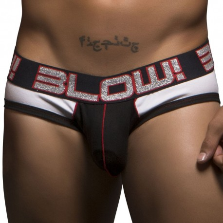 Slip Blow! Show-It Blanc - Noir