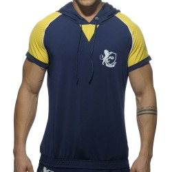T-Shirt Hoody Jersey Light Marine