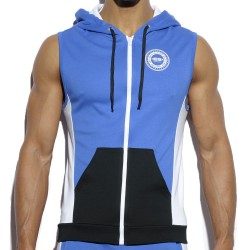 Veste Hoody Badge Royal