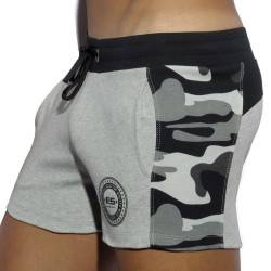 Short Badge Gris
