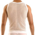 Modus Vivendi C-Through Tank Top - White