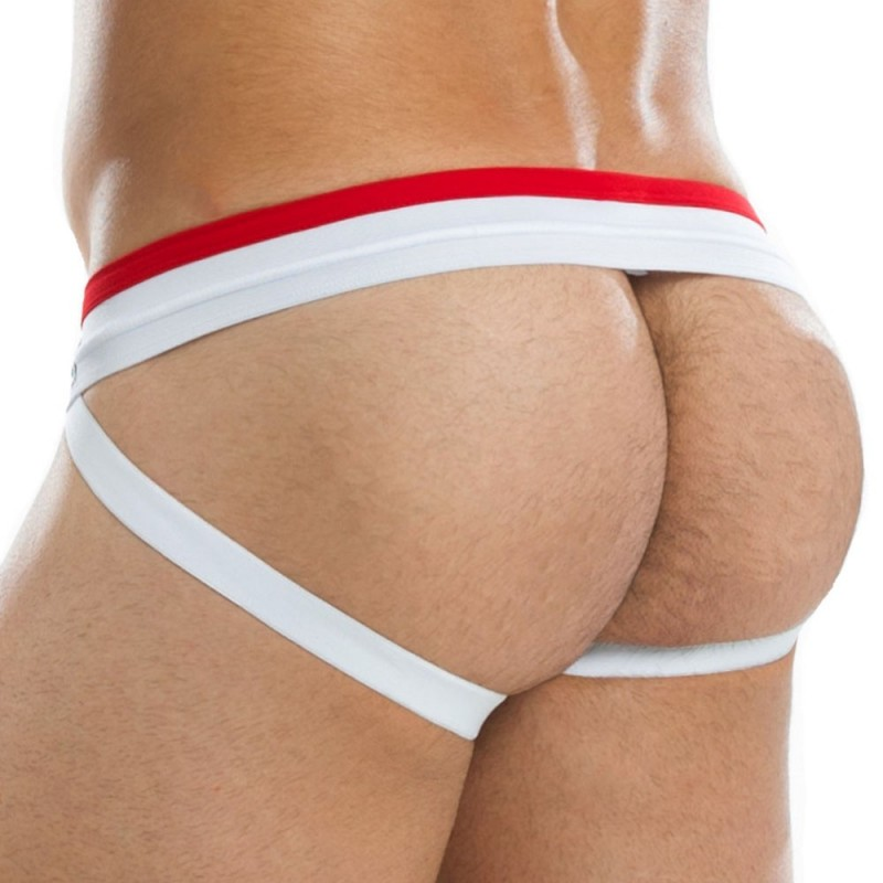 Zipper Jockstrap - Red