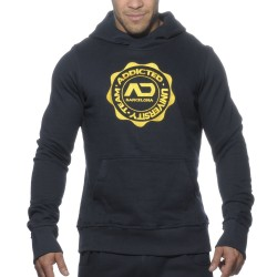 Sweat-Shirt Hoody Stamp Marine