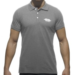 Polo Basic Plain Gris