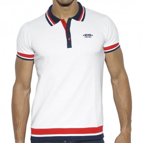 Polo Sailor Blanc