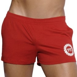 Short Fitness Rouge