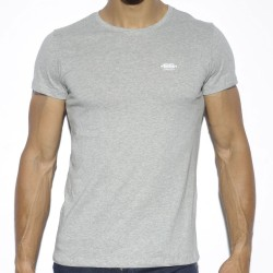 T-Shirt Basic Cotton Gris