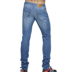 Pantalon Jeans Detail Back Seam Indigo Clair
