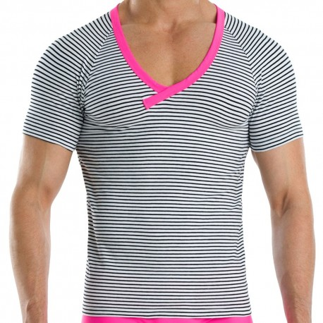 T-Shirt Narrow Marin - Fuchsia