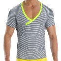T-Shirt Narrow Marin - Jaune