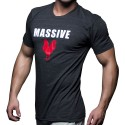 T-Shirt Massive Cock Anthracite