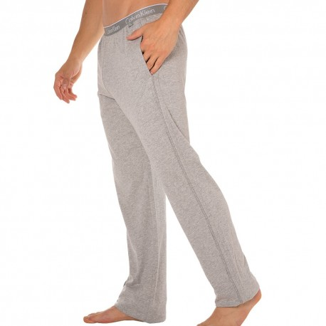 CK One Cotton Stretch Pants - Grey