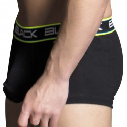 Boxer Black Collection Air Tagless Noir