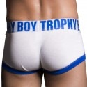 Boxer Trophy Boy Tagless Blanc