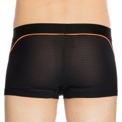 Boxer Performance Ultra H01 Noir - Orange Fluo