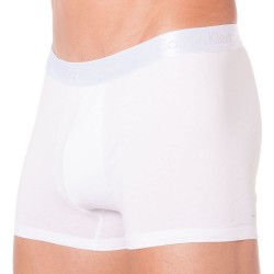 Boxer Liquid Stretch Cotton Blanc