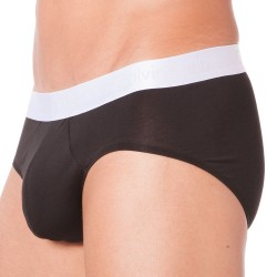 Slip Liquid Stretch Cotton Noir