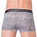 Shorty Liquid Stretch Micro Carreaux Gris