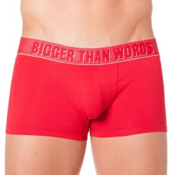 Boxer Message Bigger Than Words Rouge