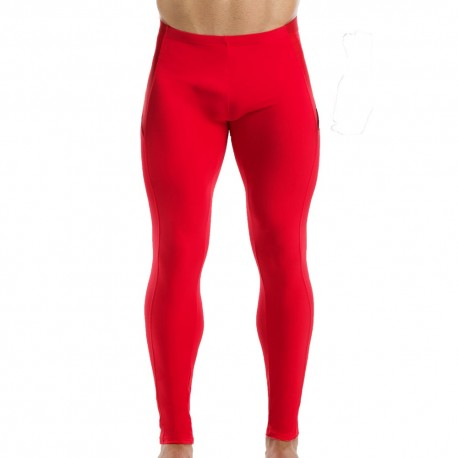 Pantalon Legging Active Rouge