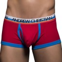 Boxer Tighty Whitie Tagless Fly Rouge
