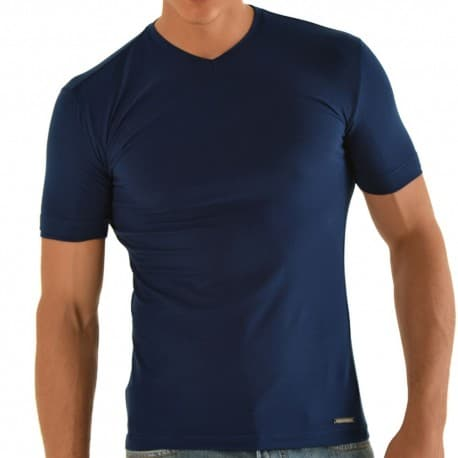 T-Shirt Slim Fit Marine