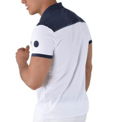 Polo Regular Fit Blanc