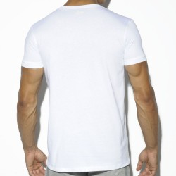 T-Shirt Basic Cotton Fit Blanc