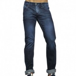 Pantalon Jeans Regular Bleu