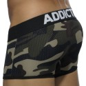 Boxer Contrasted Mesh Camouflage