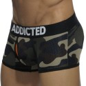 Addicted Boxer Contrasted Mesh Camouflage