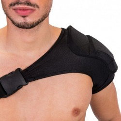 B-Hain Single Shoulder Pad - Black