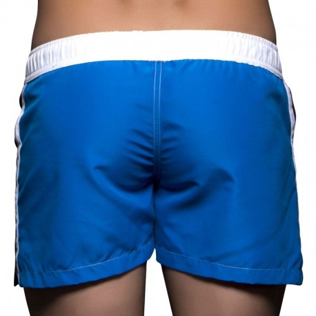 Short de Bain Navigator Noir - Royal
