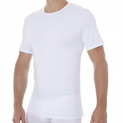 2-Pack X-Temp Crex-Neck T-Shirts - White