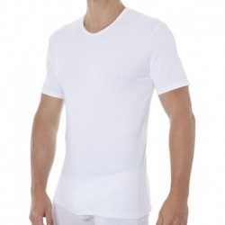 Lot de 2 T-Shirts Col V X-Temp Blancs