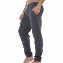 Quilted Pants - Grey