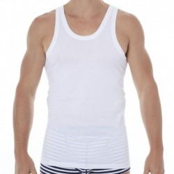 2-Pack Two Cotton Tank Tops - White