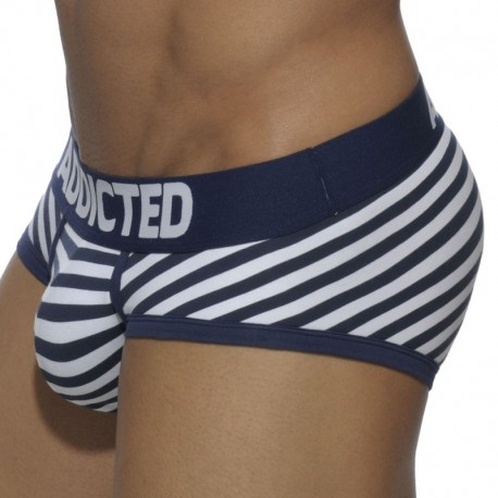 Addicted Basic Colors Brief - Navy Sailor