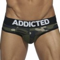 Basic Colors Empty Bottom Brief -  Camouflage