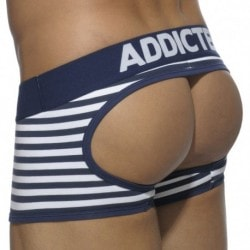 Basic Colors Empty Bottom Boxer - Navy Sailor