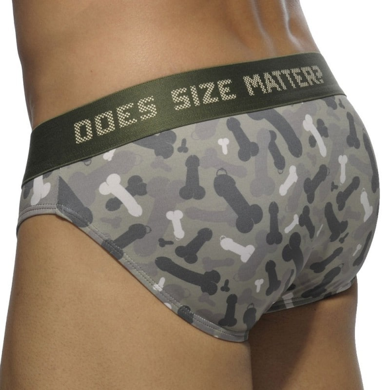 Addicted Slip Does Size Matter Camouflage