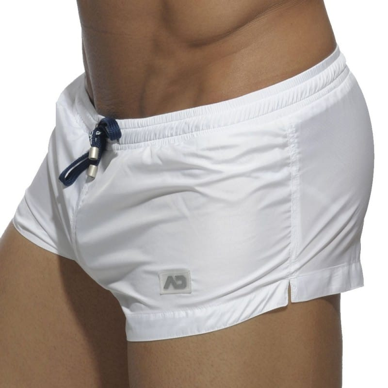 Short de Bain Mini Basic Blanc