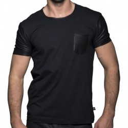 T-Shirt Slick Pocket Noir